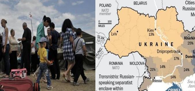 Urgent: des milliers de personnes déplacées en Ukraine