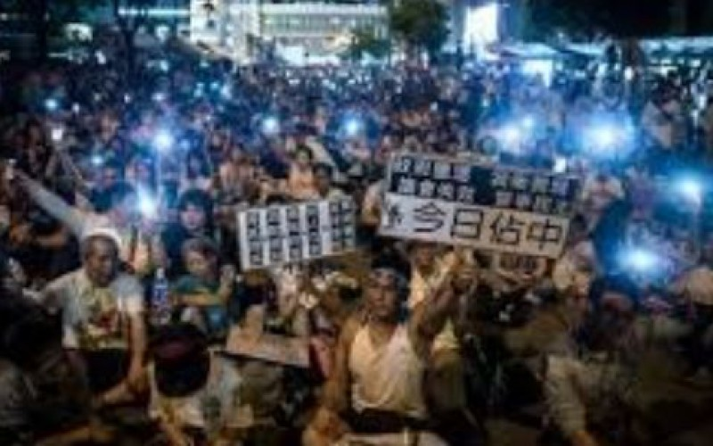 Arrestations de manifestants pro-démocraties à Hong Kong