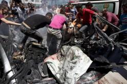 Des dizaines de palestiniens tués dans les raids israéliens contre la Bande de Gaza