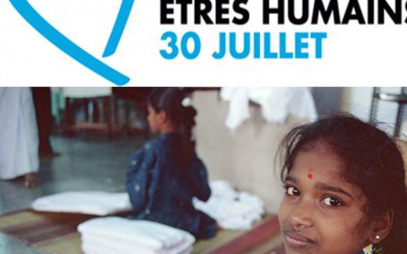 «La journée mondiale de la dignité des victimes de la traite d'êtres humains»