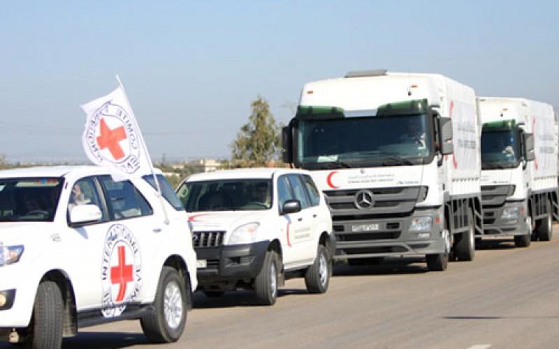 CICR et Croissant-Rouge syrien et palestinien parviennent à livrer de l'aide médicale au camp de réfugiés