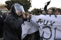 La France:Manifestations contre la répression policière