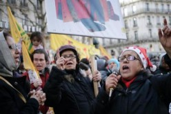 Quelques dizaines de personnes à la manifestation de Noël contre le mal-logement à Paris