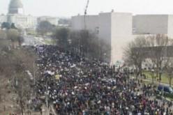 Washington: des milliers de manifestants ont défilé pour les droits civiques