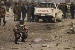 Attentat à Kaboul visant la mission de police de l'UE, un civil afghan tué