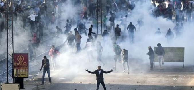 HRW dénonce l'usage excessif de la force par la police égyptienne face aux manifestants
