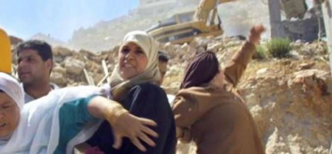 L'ONU: Israël a détruit 590 structures appartenant à des Palestiniens forçant 1 177 personnes à se déplacer