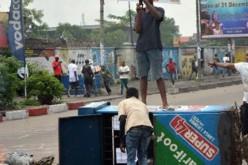 RDC: deuxième journée de violences à Kinshasa