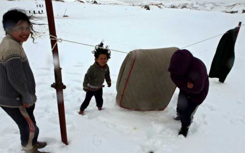 Syrie: 11 morts de froid dont 7 enfants en une semaine