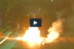 Violences à Athènes à l'issue de la première manifestation anti-Syriza-vidéo