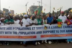 Cameroun: des milliers de manifestants protestent contre les terroristes de Boko Haram