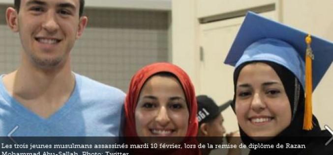 États-Unis : les réseaux sociaux s'enflamment après le meurtre de trois jeunes musulmans