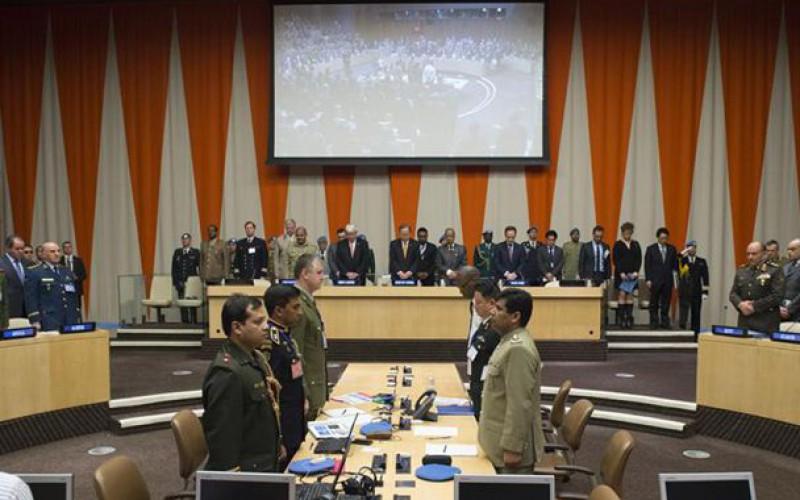 Des hauts responsables militaires de plus de 100 pays discutent des questions centrales relatives au maintien de la paix