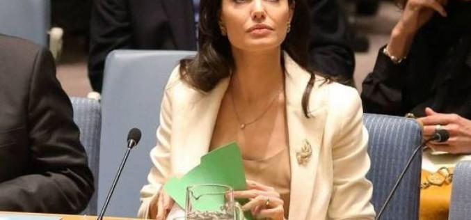 Angelina Jolie fustige le Conseil de sécurité de l'Onu pour son impuissance à mettre fin à la guerre en Syrie