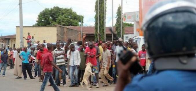 Burundi: répression des manifestants par la police, deux morts