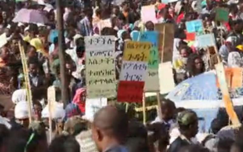 Ethiopie: Des dizaines de milliers de personnes manifestent contre Daesh (EI)