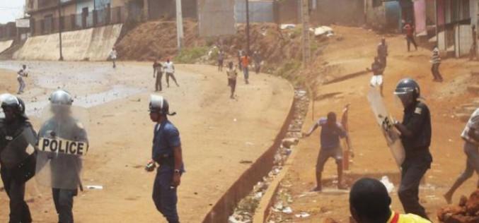 Guinée : Cinq blessés lors de manifestations à Conakry