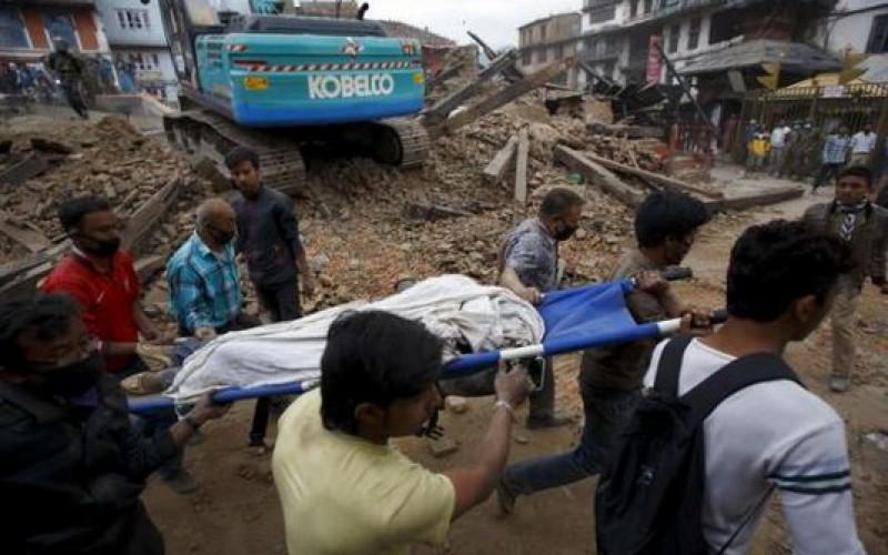 Népal : Plus d'un millier de morts après un violent séisme