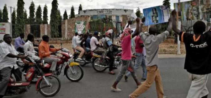 Burundi: nouvelles manifestations émaillées d'incidents, un mort
