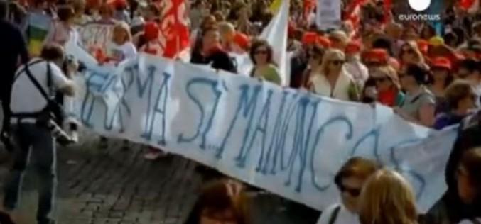 Italie : mobilisation contre la réforme de l'éducation