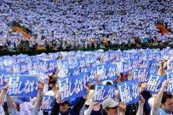 Japon: au moins 35.000 manifestants contre la présence militaire américaine