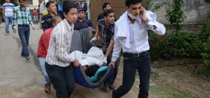 Népal : 6.204 morts et 13.924 blessés