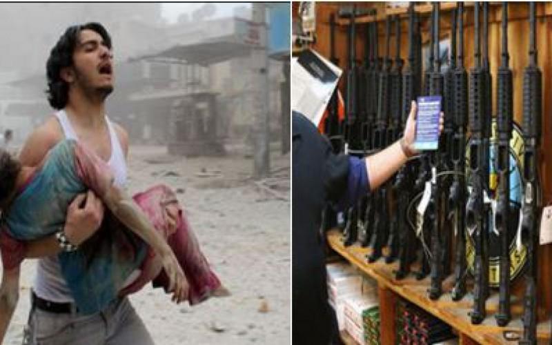 Voici où les insurgés du monde entier achètent leurs armes