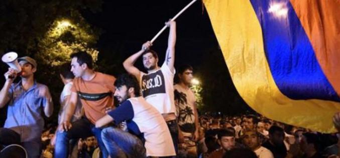 Arménie: manifestations contre le pouvoir