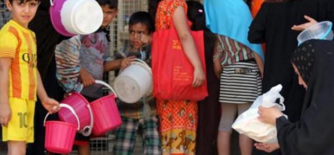 Irak: plus de 3 millions de personnes déplacées en 18 mois