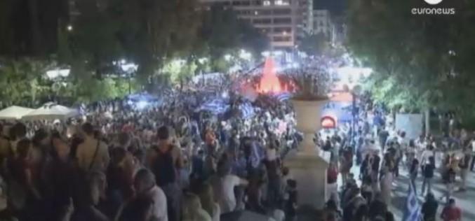 Place Syntagma, une foule…d'espoirs