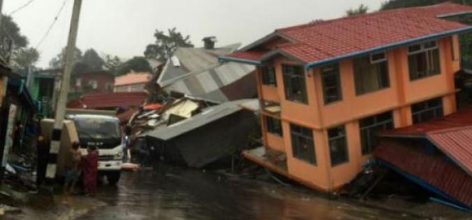 Birmanie : plus de 27 morts dans des inondations