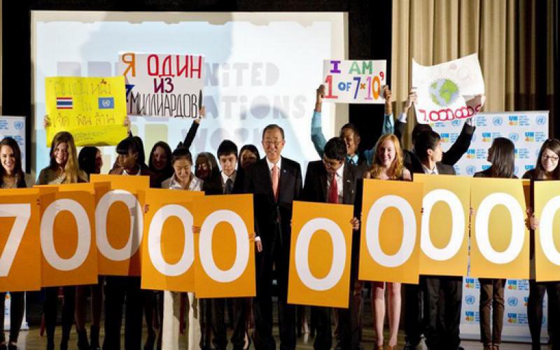 L'ONU : la planète comptera 8,5 milliards d'individus d'ici 2030