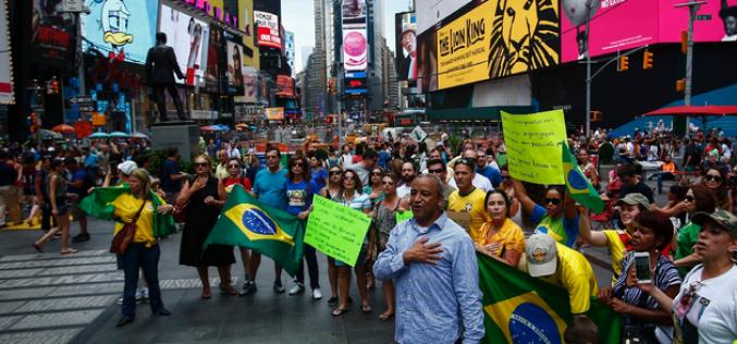 Brésil: près de deux millions de manifestants exigent le départ de la présidente Rousseff