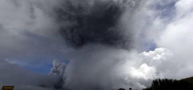 Equateur: 325.000 personnes menacées par l'éruption du Cotopaxi