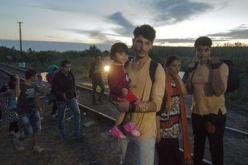 Un millier de migrants entre en Hongrie