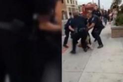 Californie : un jeune noir brutalisé par des policiers
