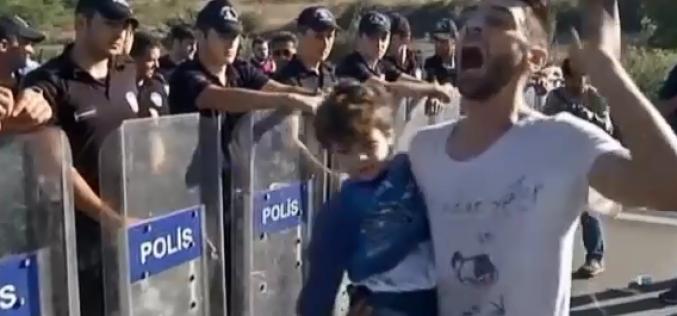 A Edirne (Turquie), deux mille réfugiés, surtout syriens, attendent de pouvoir passer en Grèce – vidéo