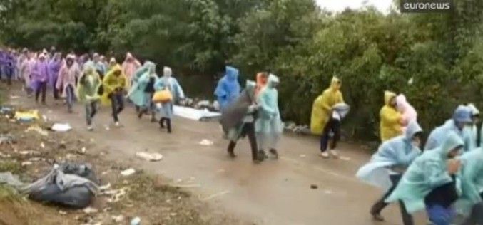 Croatie : près de 74 000 migrants en 11 jours — vidéo