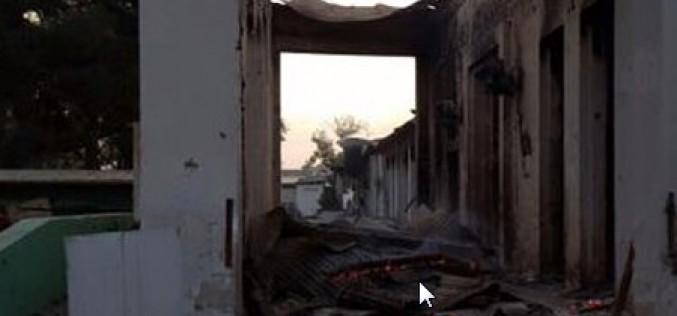 Afghanistan: 9 morts dans le bombardement d'un hôpital de MSF à Kunduz qui pourrait être dû à une frappe américaine