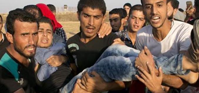 Gaza : Cinq Palestiniens tués, et 10 autres blessés dans les violences