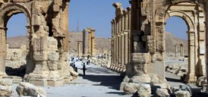 Syrie : le groupe terroriste de Daesh (EI) détruit un nouveau trésor de Palmyre