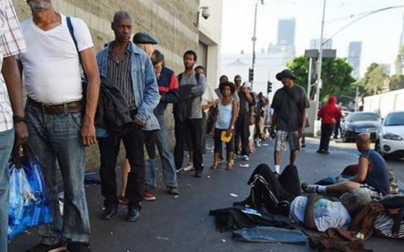 Etats-Unis : plus de 500.000 Américains sans-abri en 2015