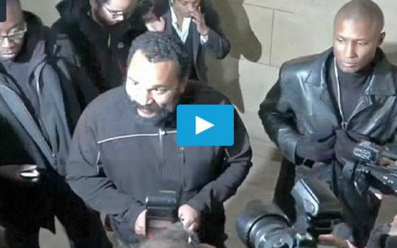 Dieudonné condamné pour la première fois à deux mois de prison ferme en Belgique
