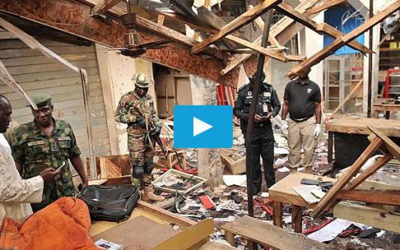Nigeria : Quinze morts dans un nouvel attentat -vidéo
