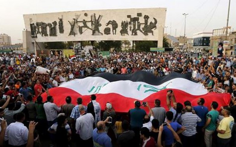 Manifestation contre la présence turque en Irak