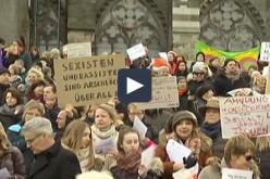Allemagne: Les femmes se rassemblent à Cologne pour condamner les agressions du Nouvel An