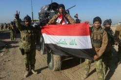 Irak: combattants  irakiens déployés dans Ramadi reconquis