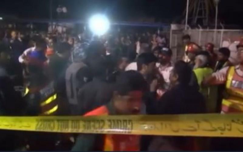 Pakistan: une soixantaine de morts dans un attentat contre une aire de jeu