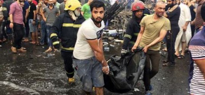 Irak : 80 morts et 200 blessés dans deux attentats près de Baghdad