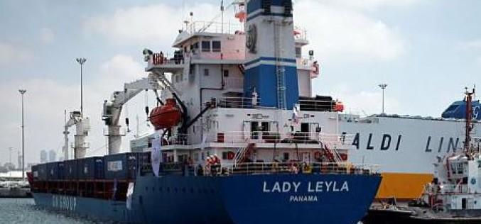 Gaza: Un navire turc d'aide humanitaire pour Gaza est arrivé à Ashdod